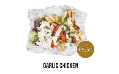 AnyTyme Snack & Dine de Woage - Garlic Chicken