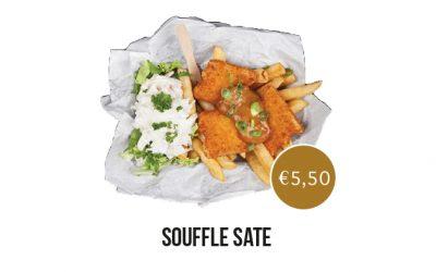 AnyTyme Snack & Dine de Woage - Souffle sate